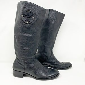 Tory Burch Shoes - Tory Burch Miller Tall leather Riding Boots